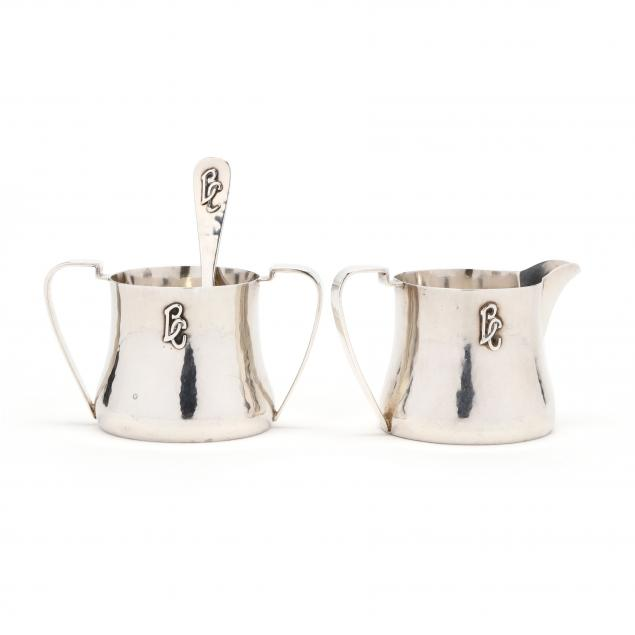 the-kalo-shop-sterling-silver-sugar-creamer-set-with-spoon