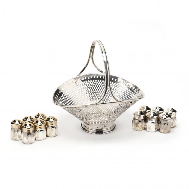 sterling-silver-basket-with-set-of-silverplate-shakers