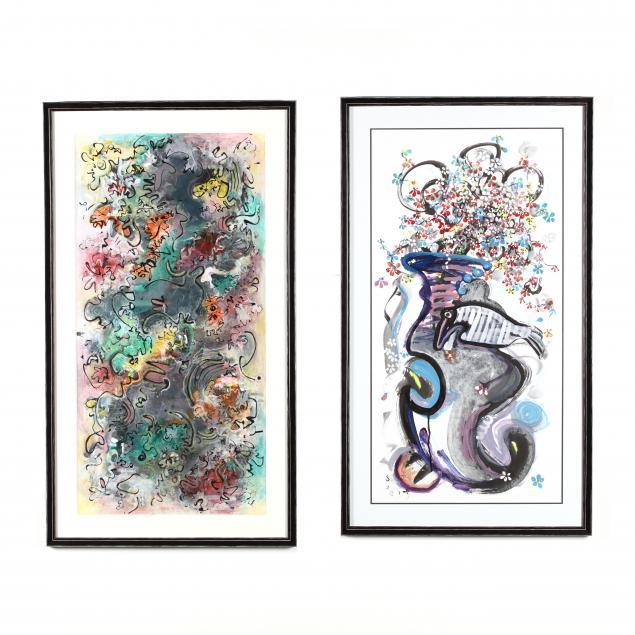 seon-jeong-kim-korean-pair-of-paintings
