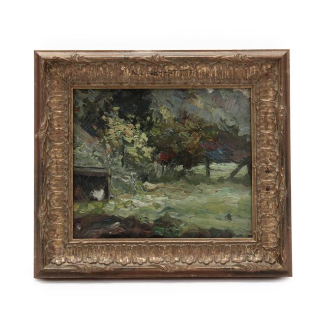august-willem-van-voorden-dutch-1881-1921-summer-landscape