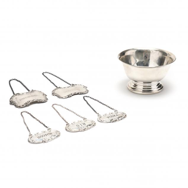 a-collection-of-vintage-sterling-silver-barware