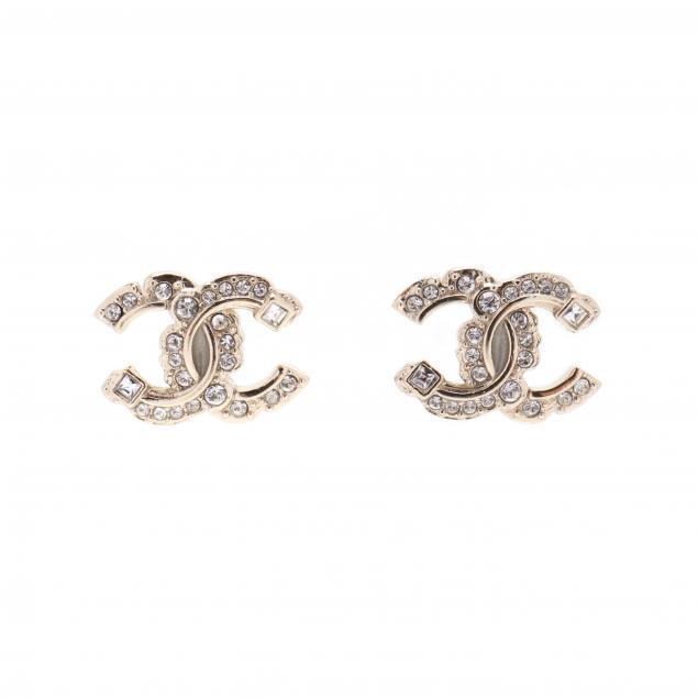 chanel-mini-logo-earrings