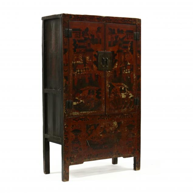 vintage-chinese-lacquered-cabinet