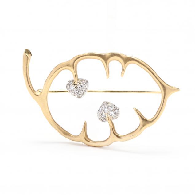 18kt-gold-platinum-and-diamond-brooch-angela-cummings