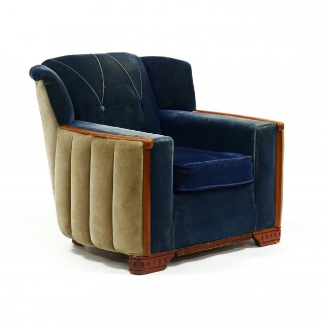 art-deco-mohair-upholstered-club-chair