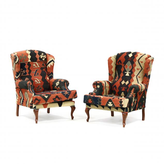 pair-of-kilim-upholstered-queen-anne-style-easy-chairs
