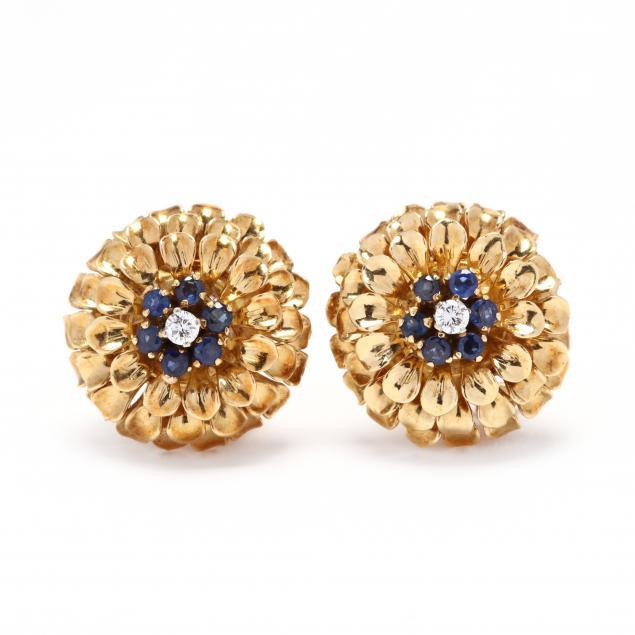 18kt-gold-and-gem-set-ear-clips-tiffany-co