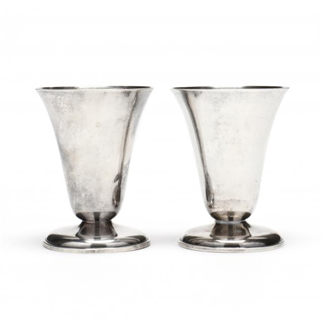 a-pair-of-sterling-silver-tumblers-mark-of-julius-o-randahl