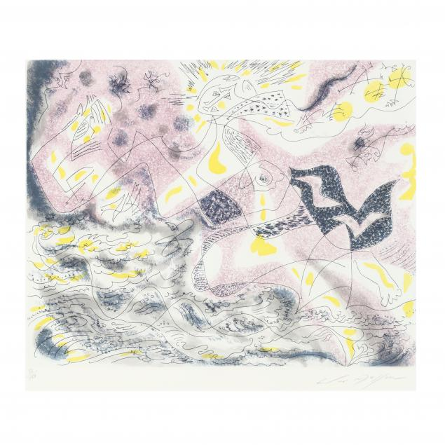 andre-masson-french-1896-1987-etching-and-aquatint