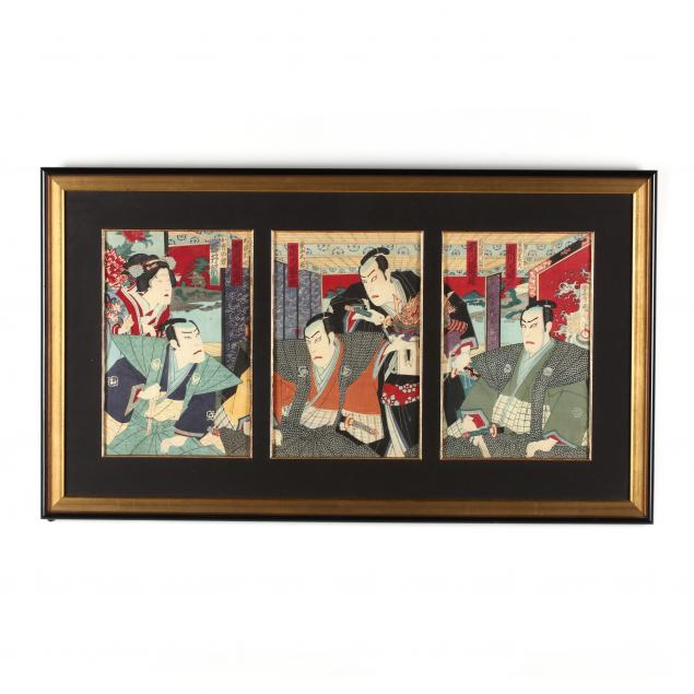 toyohara-kunichika-japanese-1835-1900-triptych-of-kabuki-actors