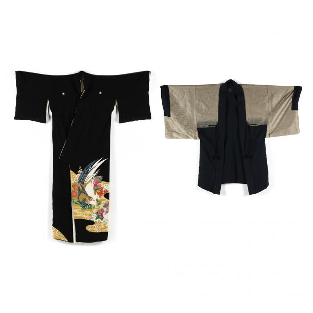 two-vintage-japanese-kimonos
