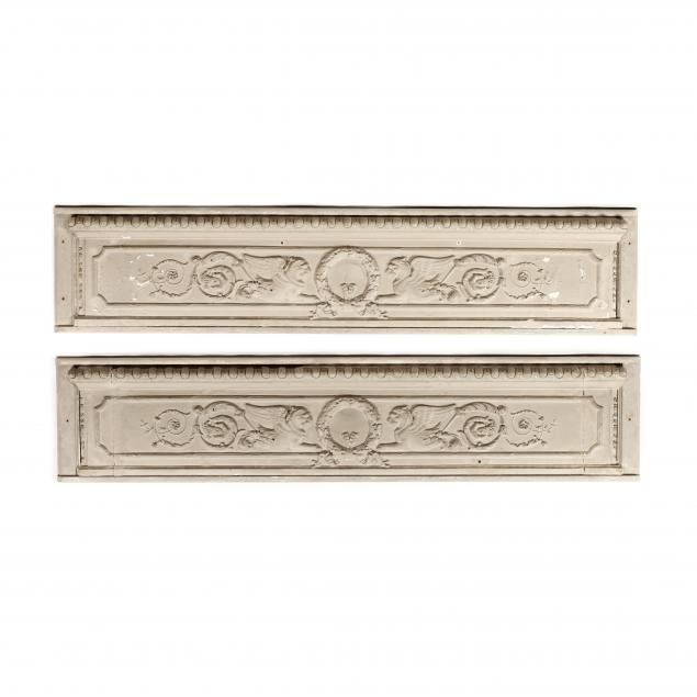 pair-of-vintage-plaster-architectural-friezes