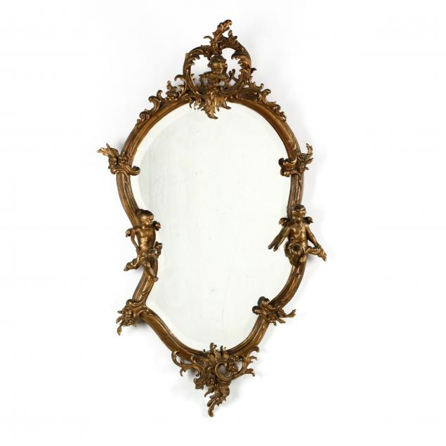 antique-italian-rococo-style-carved-and-gilt-mirror-with-putti