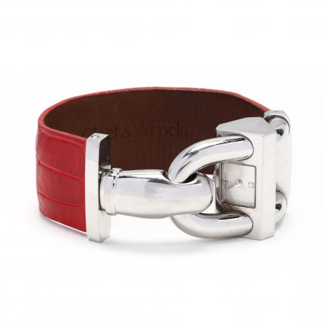 lady-s-stainless-steel-cadenas-watch-van-cleef-arpels