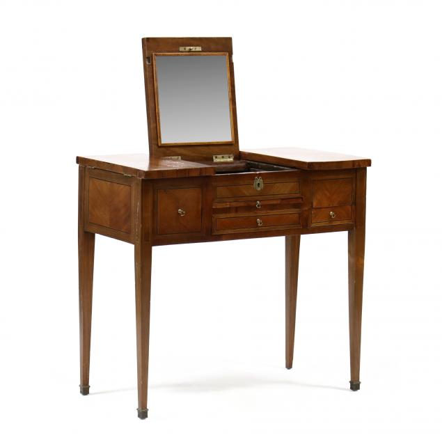 antique-inlaid-mahogany-dressing-table