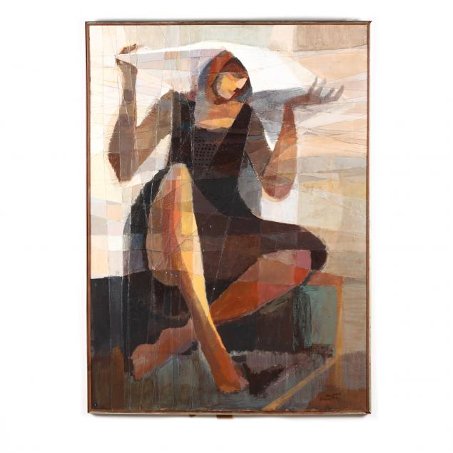 mid-century-modern-cubist-style-figurative-painting