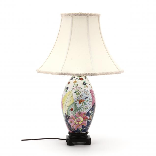 contemporary-chinese-export-style-tobacco-leaf-table-lamp