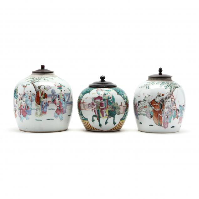 three-chinese-porcelain-ginger-jars