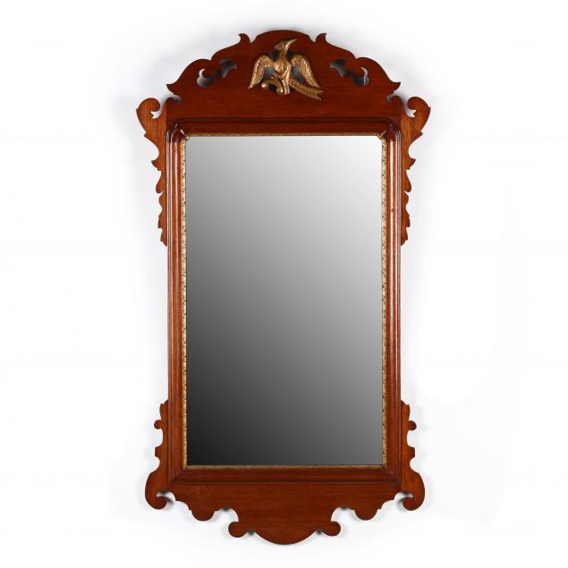 pug-moore-chippendale-style-mahogany-mirror