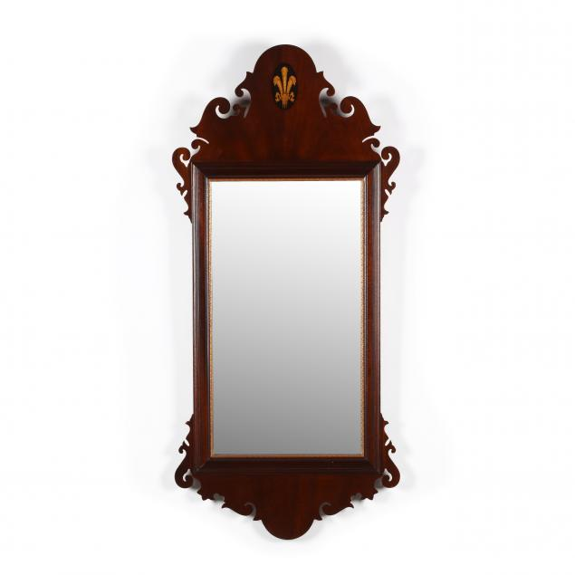 georgian-style-inlaid-and-beveled-mirror