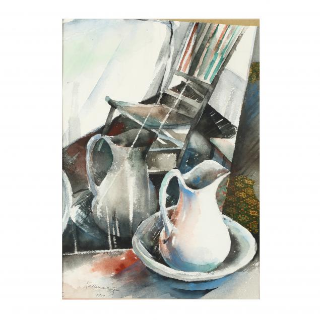 katherine-chang-liu-ca-chinese-still-life-with-jug-and-chair