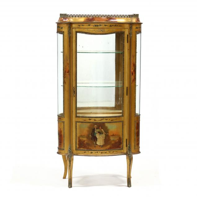 vintage-french-painted-and-ormolu-mounted-vitrine