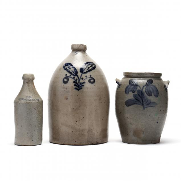 three-antique-stoneware-vessels
