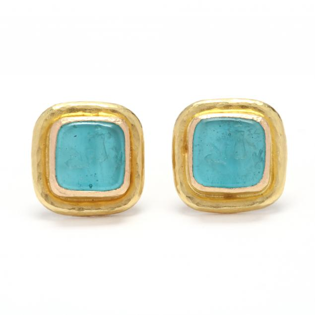 19kt-gold-and-venetian-glass-earrings-elizabeth-locke