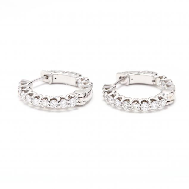 pair-of-14kt-white-gold-and-diamond-hoop-earrings