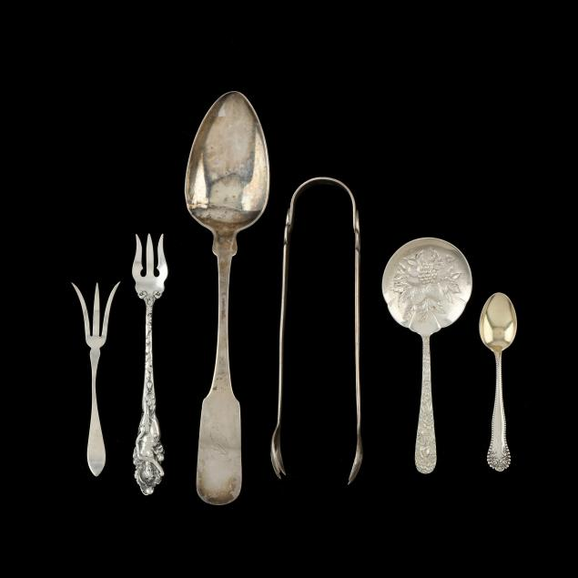 six-pieces-of-coin-silver-sterling-silver-flatware