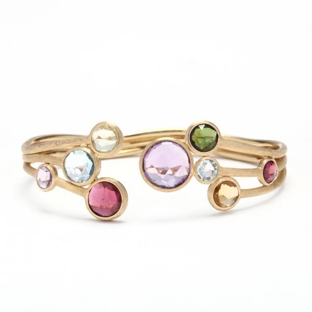 18kt-gold-and-multi-gemstone-jaipur-cuff-bracelet-marco-bicego