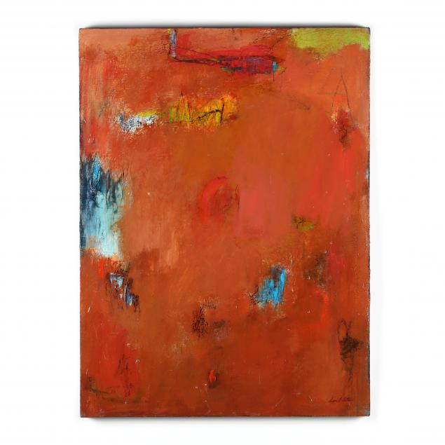 diane-patton-va-abstract-expressionist-painting-in-red