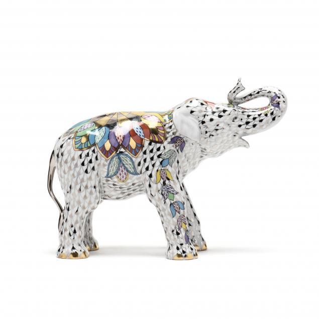 limited-edition-herend-porcelain-opulent-elephant