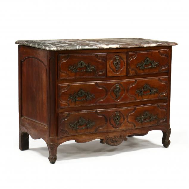 louis-xv-carved-walnut-marble-top-commode