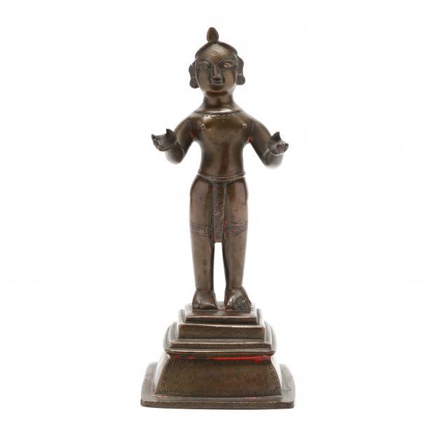 an-antique-indian-hindu-bronze-sculpture