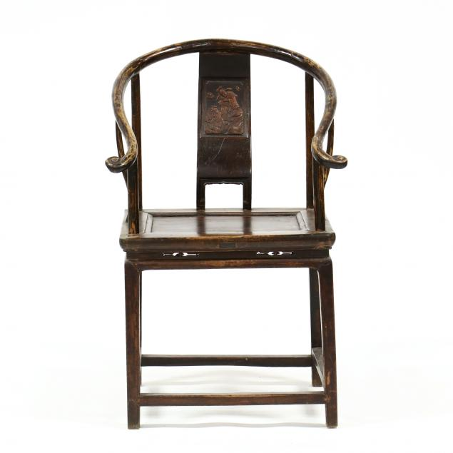 a-chinese-wooden-horseshoe-chair