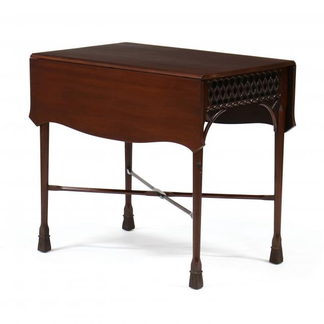 georgian-style-mahogany-pembroke-table