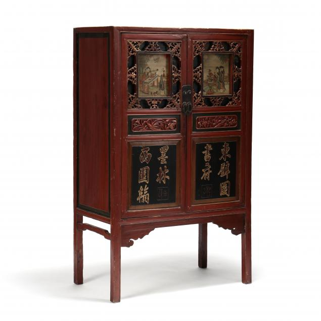 chinese-diminutive-carved-and-painted-cabinet