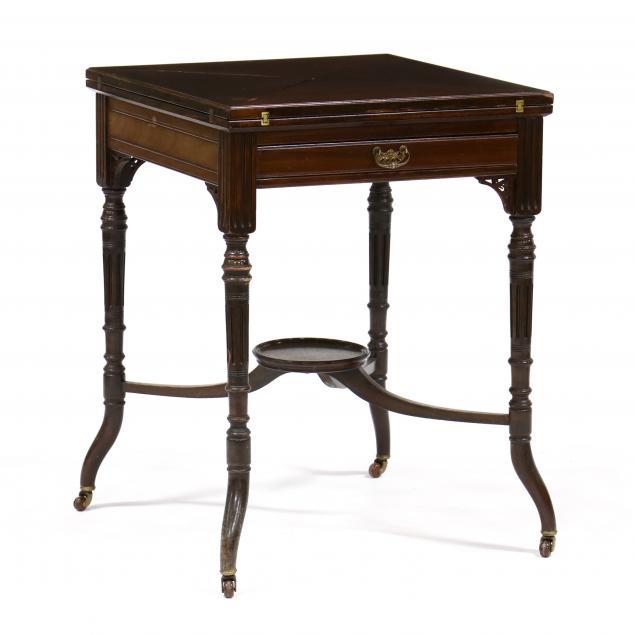 edwardian-mahogany-handkerchief-game-table
