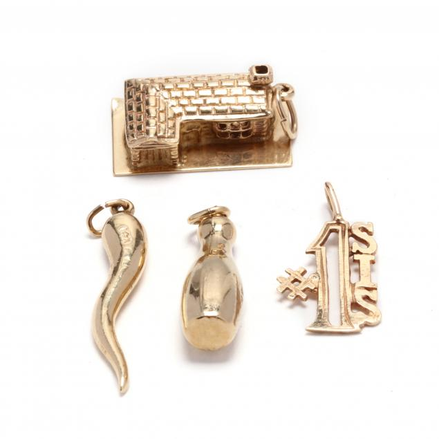 four-14kt-gold-charms