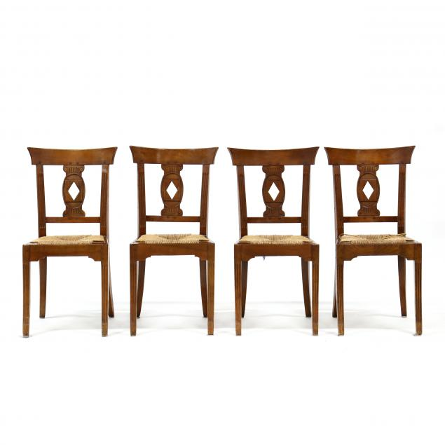 set-of-four-french-provincial-style-cherry-dining-chairs