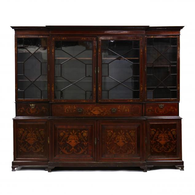 edwardian-marquetry-inlaid-mahogany-breakfront