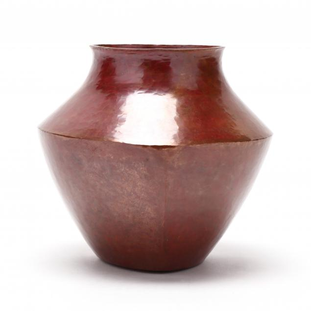 punzo-family-hammered-copper-vase