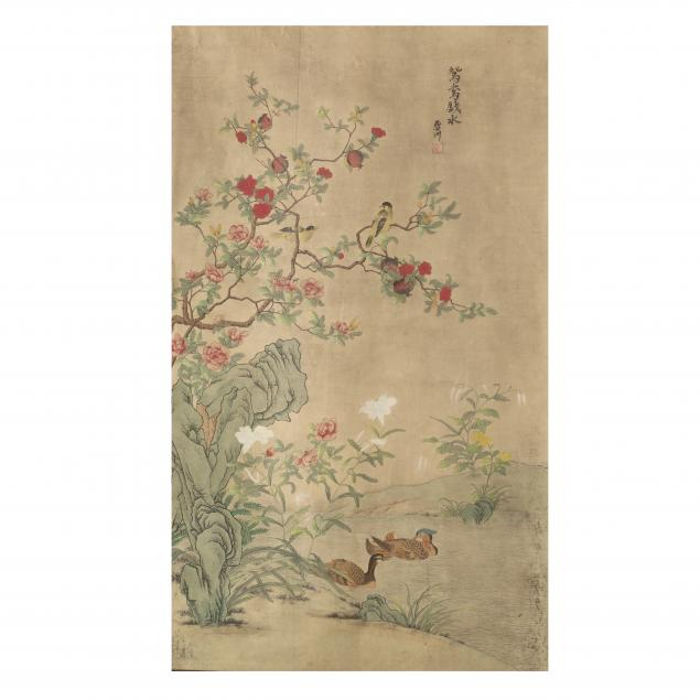 a-chinese-bird-and-flower-painting
