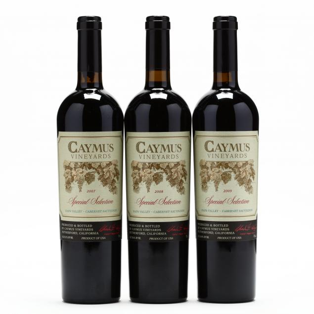 2007-2009-caymus-vineyards-vertical