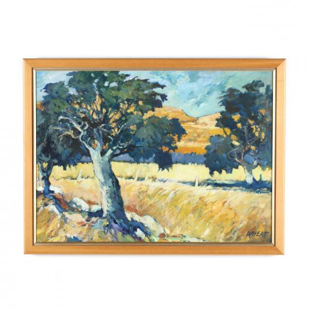 gilbert-wheat-ca-1927-2010-i-ranch-near-calistoga-i