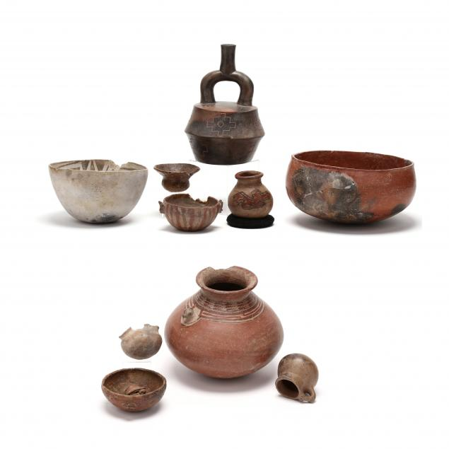a-group-of-ten-pre-columbian-anasazi-pottery