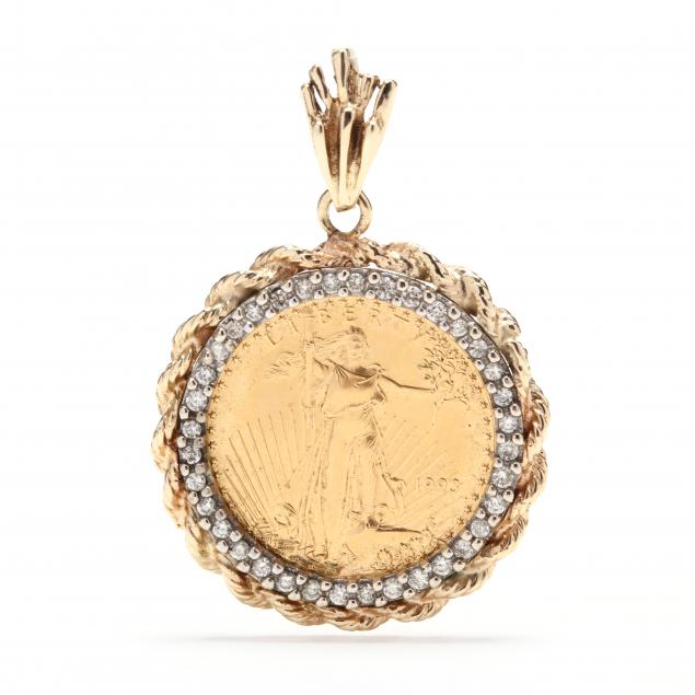 gold-and-diamond-coin-pendant