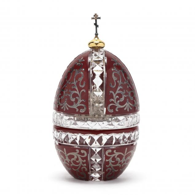 theo-faberge-st-vladimir-crystal-sterling-silver-egg