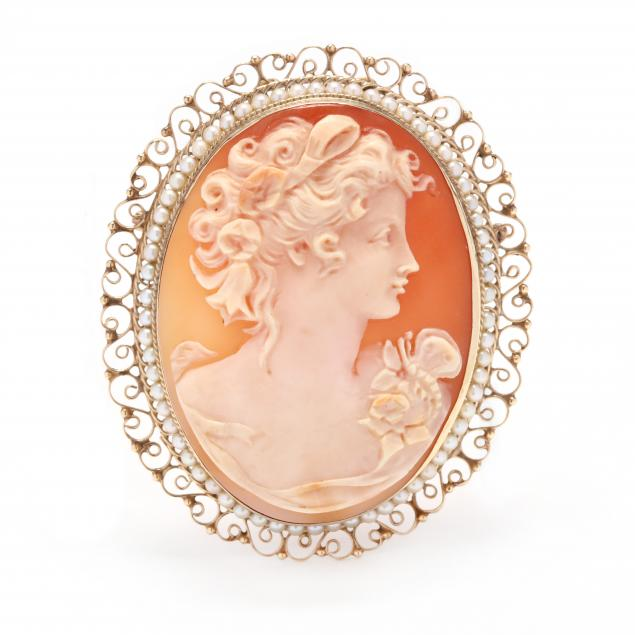 large-gold-cameo-and-seed-pearl-brooch